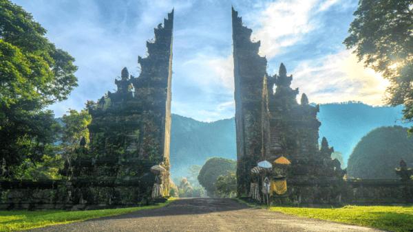 Bali digitale Nomaden ortsunabhängig