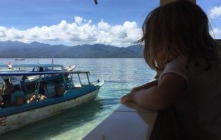 Hafen Gili Meno Kind Bali